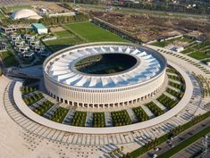 Stadium Architecture, Architecture Photo, Modern Architecture, Soccer Stadium, Football Stadiums, World Cup 2022, The Incredibles, Mansions, House Styles