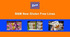 B&M have some fabulous gluten free lines in which looks to be permanent, from pasta to crackers and biscuits and a rumour they are going to be stocking gluten free bread too