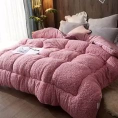 Thicken Lamb Cashmere Blanket Winter Soft Warm Bed Quilt for Bedding Twin Full Queen King Size - Bed and Bedcover