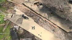 Israeli military photos show parts of the destroyed drone