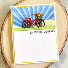 Rolling Along Scene Etched Dies from Make a Scene Collection by Becca Feeken Becca, Journey, Scene, Paper, How To Make, Fun, Instagram, Collection, The Journey