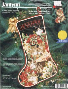 CCS KIT JANLYNN 125-239  Christmas Cats by BusyBeaverBoutique