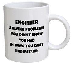 Engineer Gifts Funny Engineer Spelling Coffee Mug