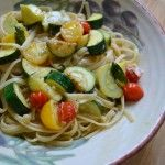Mom, here's a healthy recipe we could make: Summer Spaghetti: Easy, Healthy Vegetable Pasta