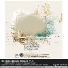 Blendables+Layered+Template+No.+76