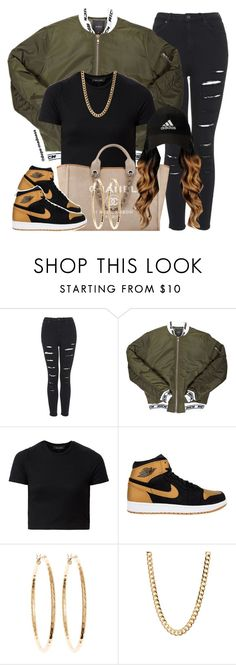 """""""Do It To Ya - YG"""" by dope-madness ❤ liked on Polyvore featuring Topshop, Joyrich, Chanel, Brooks Brothers, women's clothing, women's fashion, women, female, woman and misses"""