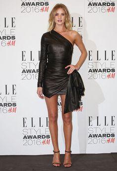 rosie huntington elle style awards 2016 hm