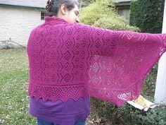 Ravelry: Lace Shawl pattern by Deborah Newton
