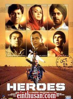 Heroes Hindi Movie Online - Mithun Chakraborty, Salman Khan, Sunny Deol, Bobby Deol, Preity Zinta, Sohail Khan and Vatsal Sheth. Directed by Samir Karnik. Music by Sajid-Wajid. 2008 ENGLISH SUBTITLE