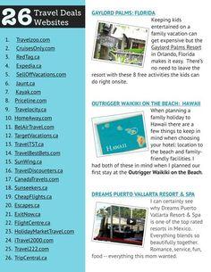 26 Travel Deal Websites