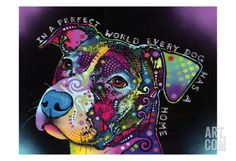 In a Perfect World Print