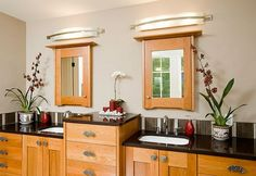 traditional contemporary decorating ideas | ... Lighting Ideas : Traditional Bathroom Design With Modern Lighting