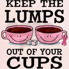 Keep the lumps out of your cups
