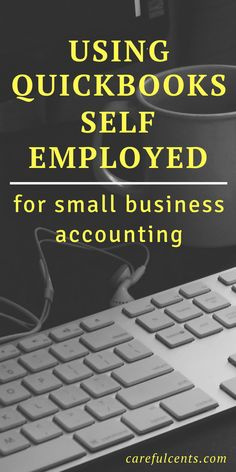 business finance [Guide] Using QuickBooks Self-Employed For Small Business Accounting and Bookkeeping Home Based Business, Business Tips, Online Business, Business Education, Business Essentials, Business Software, Successful Business, Business Technology, Craft Business