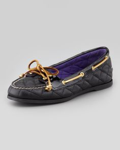 Sperry Top-Sider Audrey Quilted Leather Boat