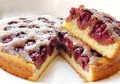 Быстрый пирог Вишенка
