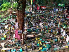 Project Morrinho Childhood Games, Brazil, City Photo, Times Square, The Neighbourhood, Brick, Recycling, 1, Holiday Decor