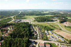Kuvassa näkyy Riihimäen ABC. Kuvattu 9.6.2011, SkyFoto Group