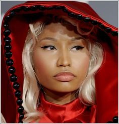 Nicki Minaj on the Red Carpet at the Grammys 2012