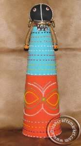 African Beaded ceremonial Ndebele doll