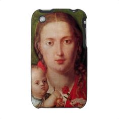 Albrecht Durer - Mary with the carnation Case For The iPhone 3