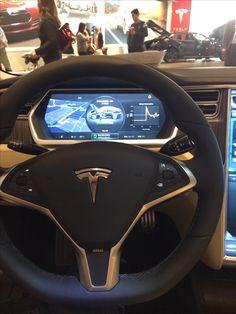 Tesla Model S Driver's Seat #Tesla #Cars - LGMSports.com