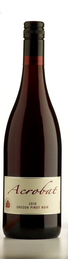 Acrobat by King Estate Pinot Noir Oregon  -  selected for Turkey Dinner at Iz n Stacy's house 2012.