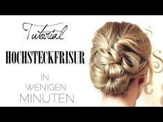 LEICHTE HOCHSTECKFRISUR - Für Mittel & Lange Haare | #MayBePerfect - YouTube