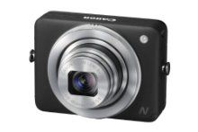 The Canon PowerShot N lets you upload photos to your Facebook account without having to first transfer the pics and videos onto a computer!