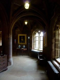 Pasillo cruzado Castillo de Bamburgh