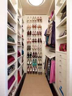 Love the shoes on the wall.
