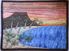 Hand Quilted OOAK Wall Hanging