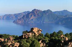 calanques de piana corsica | Aux alentours - Camping U-Sommalu