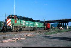 RailPictures.Net Photo: BN 3112 Burlington Northern Railroad EMD GP50 at La Crosse, Wisconsin by Chuck Schwesinger