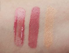 Bourjois Aqua Laque in Rosé on the Rocks, Velvet in Don't Pink of It & Colorband in Beige Minimalist
