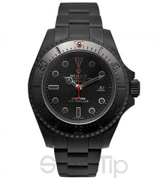 Deepsea Titanium-Coated Watch