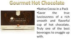 NOT SLEEPING WELL?  FEELING TIRED?  Then you need to talk with me about OrGano Gold HOT CHOCOLATE. A unique blend of smooth rich chocolate taste and 100% Organic Ganoderma extract warms your body while supporting your immune system during cold days. Highly requested, OG is proud to present a great tasting drink that everyone can enjoy.  This makes your body Alkaline and NOT Acid - contact me for a free sample Niki 250-793-4040 or visit my website at www.successwithniki.organogold.com