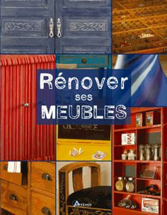 """Rénover ses meubles"", éditions Eyrolles"