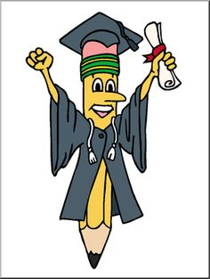 Graduation/End of School - Clip Art for Teachers, Parents, Students, and the Classroom