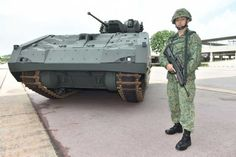 Singapore Armed Forces (SAF) have received the final prototype of new Armoured Fighting Vehicle (AFV) to replace old M113 tracked armoured vehicle personnel carrier. The new platform will provide the SAF's armoured forces with enhanced firepower, protection, mobility and situational awareness.