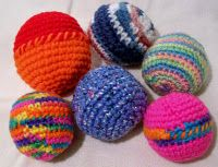 free pattern....great use for leftover yarn and Evie loves any sort of ball.
