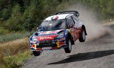 WRC Rally of France 2012: Sebastian Loeb in Citroen DS3