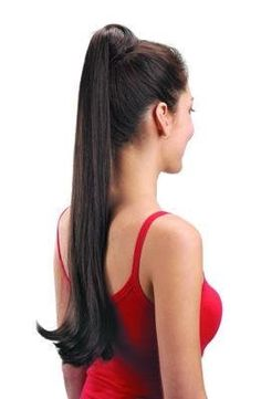 A plain free-hanging ponytail or braid is not correct. The ends of your hair should not be showing. A simple pinned bun or braided bun can be easily done by yourself or a loving friend. Long Ponytail Hairstyles, Long Hair Ponytail, Long Ponytails, Ponytail Styles, Braids For Long Hair, Curly Hair Styles, Straight Ponytail, Pretty Hairstyles, Wispy Hair