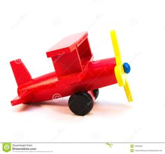 Red Toy Plane - Download From Over 65 Million High Quality Stock Photos, Images, Vectors. Sign up for FREE today. Image: 13555635