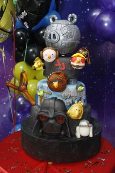 Angry Birds Star Wars_ La torta hermosa- Me encanto! THE CAKE
