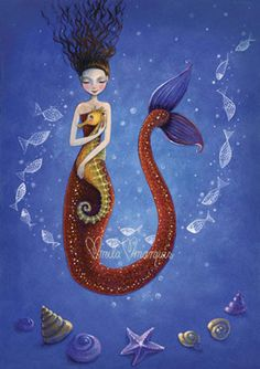 Limited and signed art print by Mila Marquis