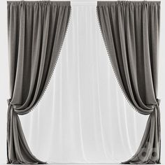 Curtains Red