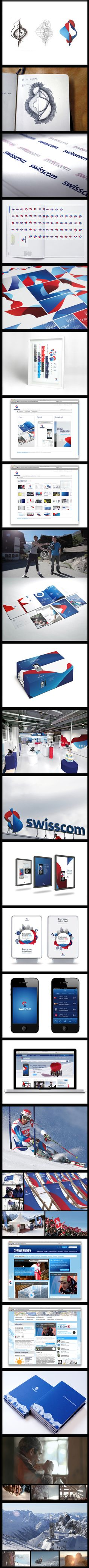Moving Brands, Swisscom branding