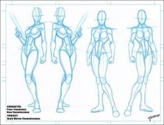Blank Female Templates 9 by stourangeau on DeviantArt - - Action Pose Reference, Body Reference Drawing, Body Drawing, Anatomy Reference, Art Reference Poses, Body Sketches, Anatomy Sketches, Anatomy Drawing, Gesture Drawing