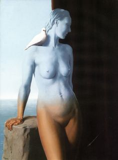 Intercepted by Gravitation | dappledwithshadow: René Magritte René Magritte 1898 - 1967  More @ FOSTERGINGER At Pinterest